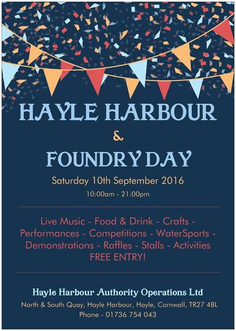 Saturday 10th September 2016 10:00am - 21:00pm Live Music - Food & Drink - Crafts Performances - Competitions - WaterSports - Demonstrations - Raffles - Stalls - Activities FREE ENTRYl